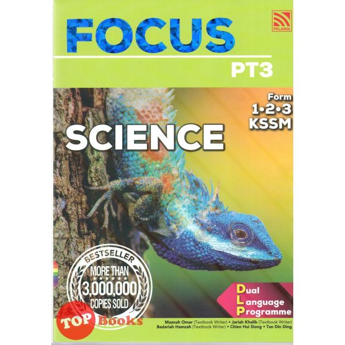 Pelangi Focus Pt3 Kssm Science Form 1 2 3 2020 Shopee Singapore