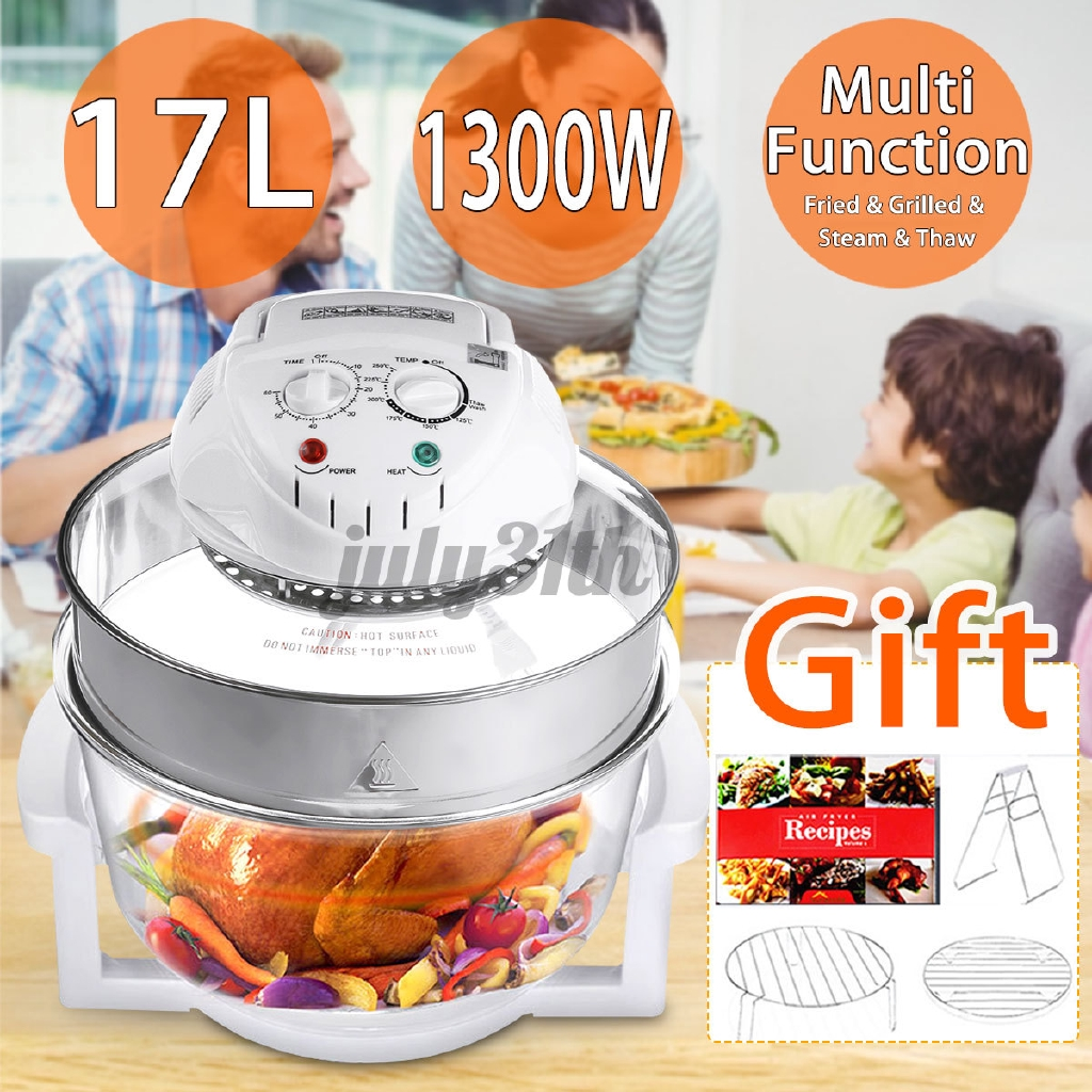 1300w Convection Oven Roaster Air Fryer