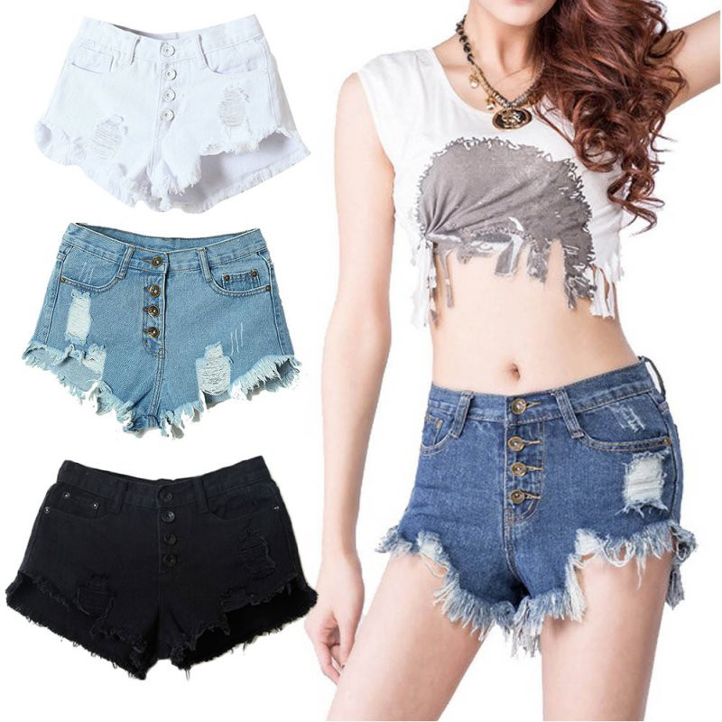 high waisted shorts girls