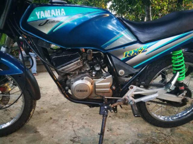 Yamaha Rxz Body Cover Set Biru Laici Dbc With Sticker 7 Hld Made In Malaysia Shopee Singapore
