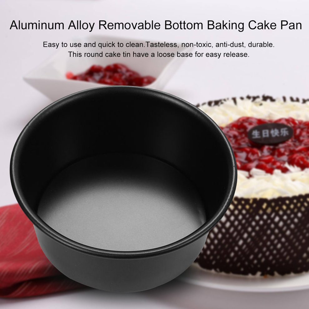 6 Inch Aluminum Alloy Removable Bottom Baking Cake Pan Ee Singapore