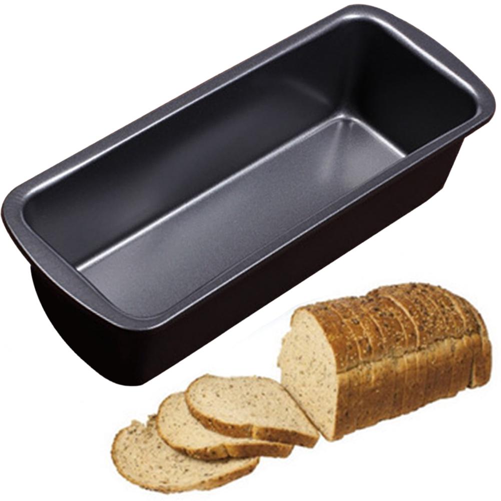 Square Non Stick Pan Loaf Bakeware Bread Cake Baking Bake Cookware Tin Tray