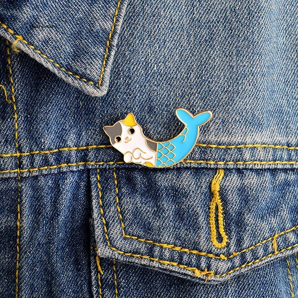 Apparel Sewing & Fabric Enamel Paper Cranes Badges For Clothes Polar Bears Astronauts Brooches Jeans Handbag Alloy Brooch Arts,crafts & Sewing