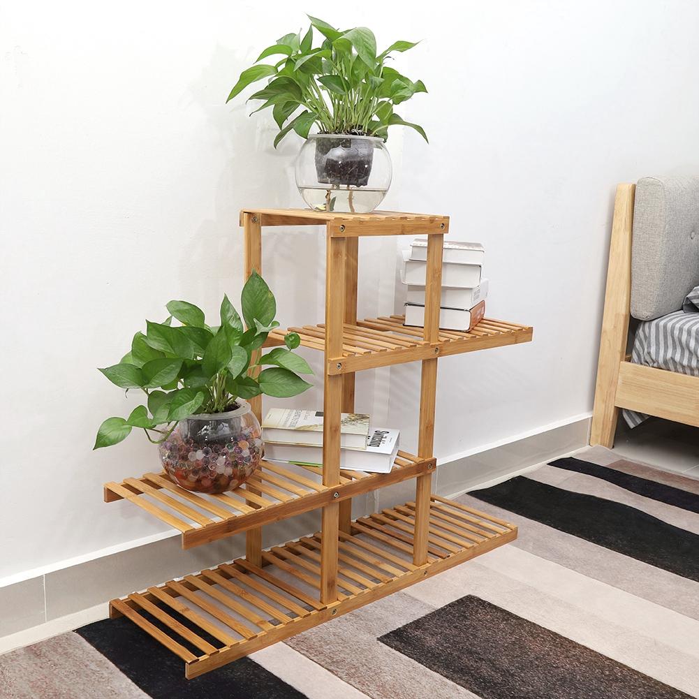 Stand Outdoor Wooden Garden Pot Plant