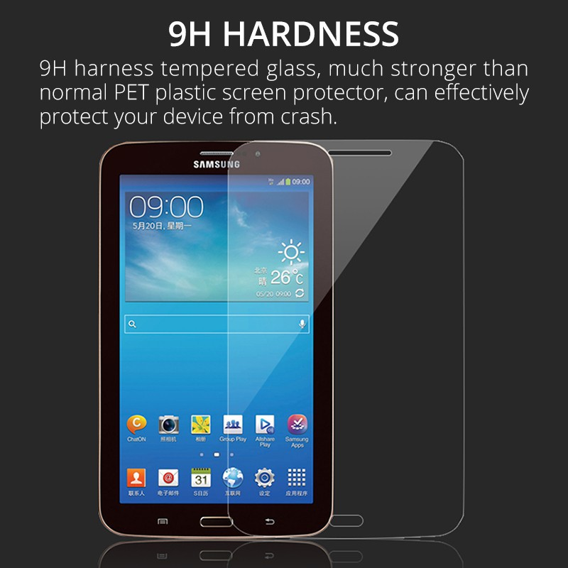 Tempered Glass Screen Protector For Samsung Galaxy Tab 4 8.0 T330 T331 T337