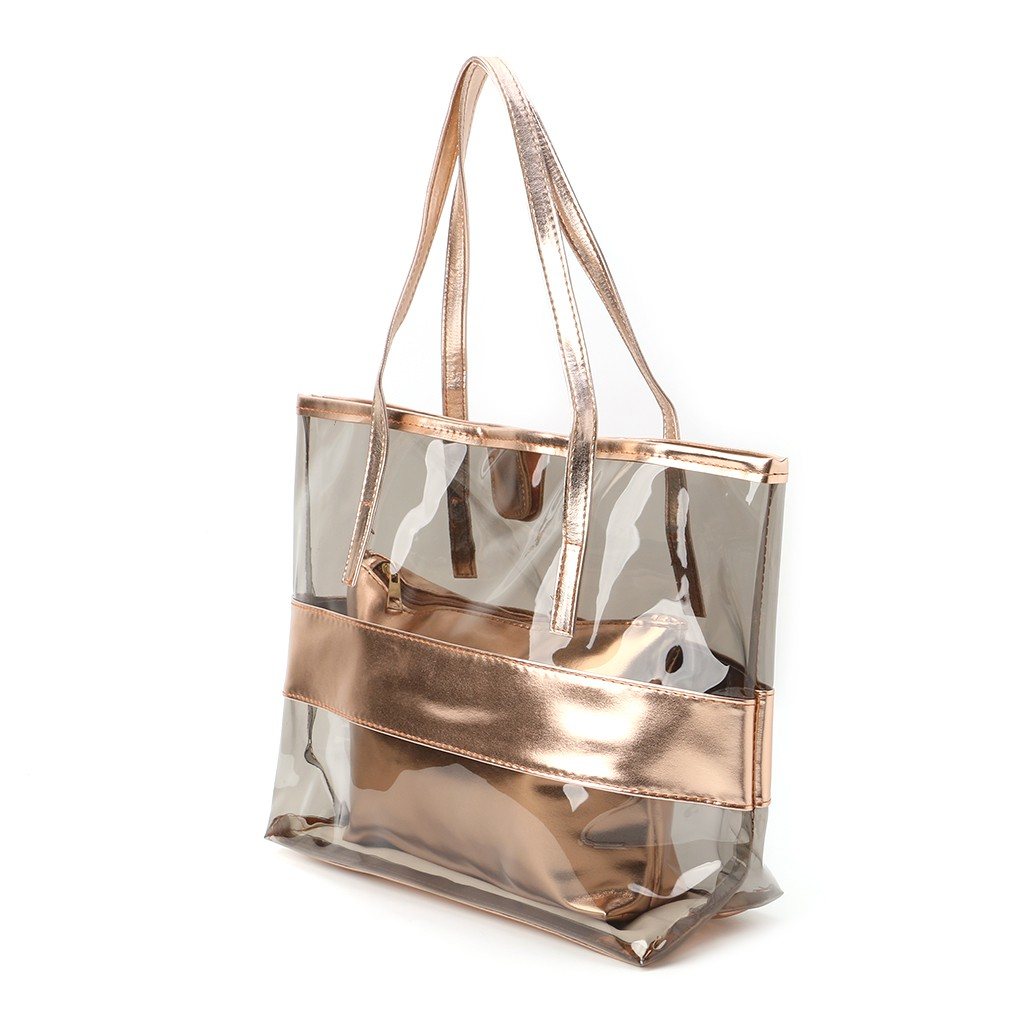 Ping Bags Jelly Clear Beach Tote