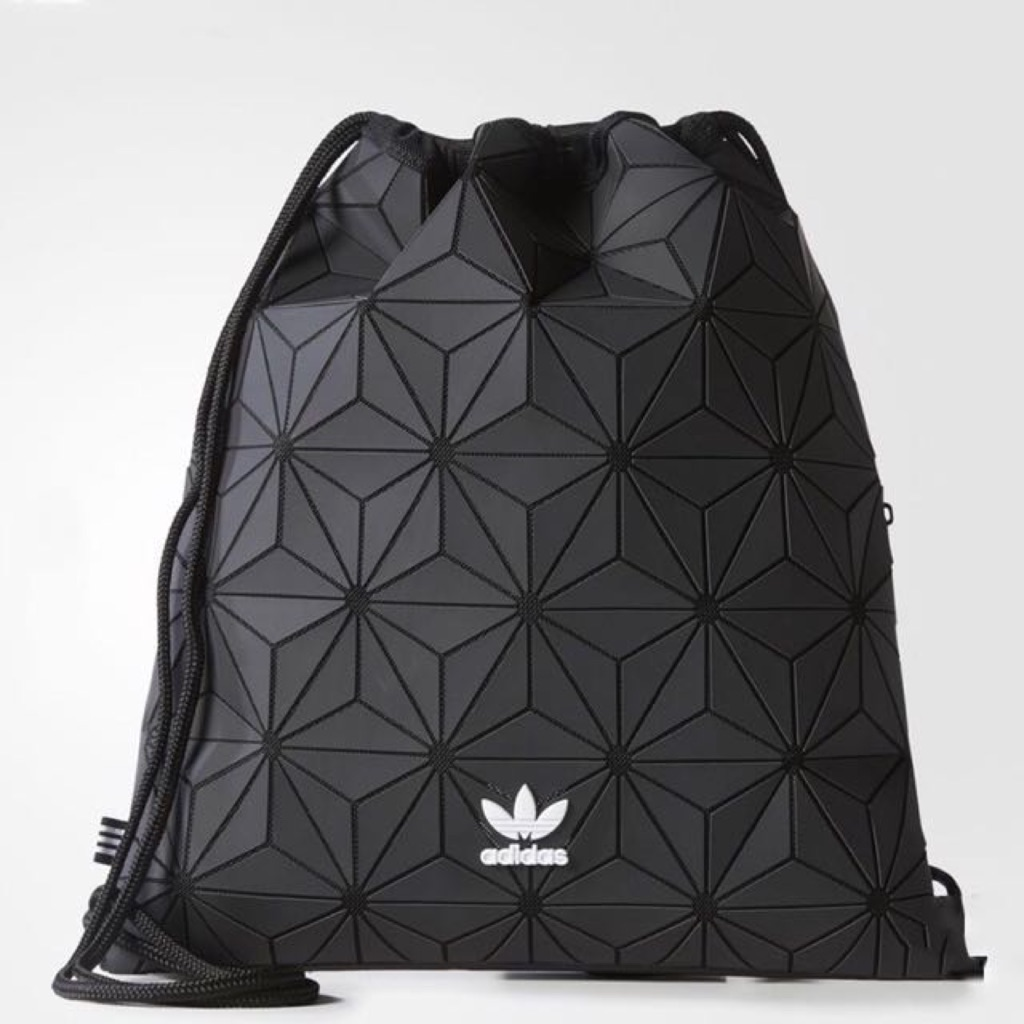 cdfe8a0cfe AUTHENTIC  Adidas 3D Mesh Issey Miyake Drawstring Bag Gym Sack ...