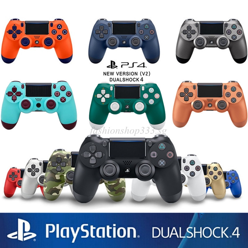 【PROMO】1 Year Warranty PS4 Gaming Controllers DualShock 4 Wireless  Controller Gamepad Joystick