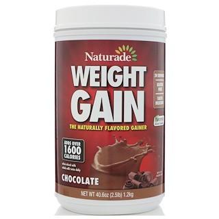 Naturade, Weight Gain, Chocolate, 40 6 oz (1 2 kg)
