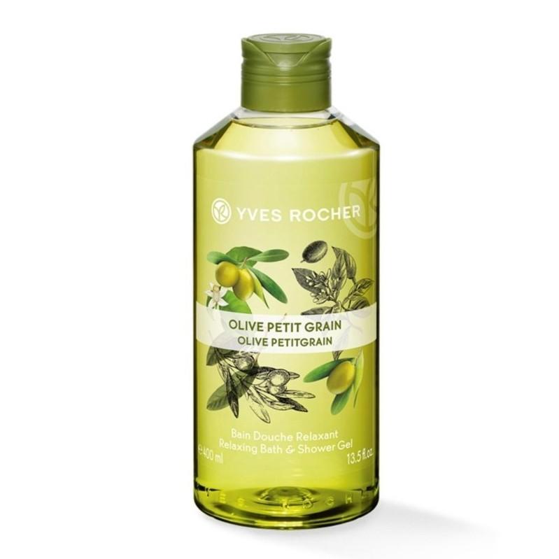 Rocher Yves Grain Gel Olive Relaxing Shower Bath 400ml Petit tsCdxQrh