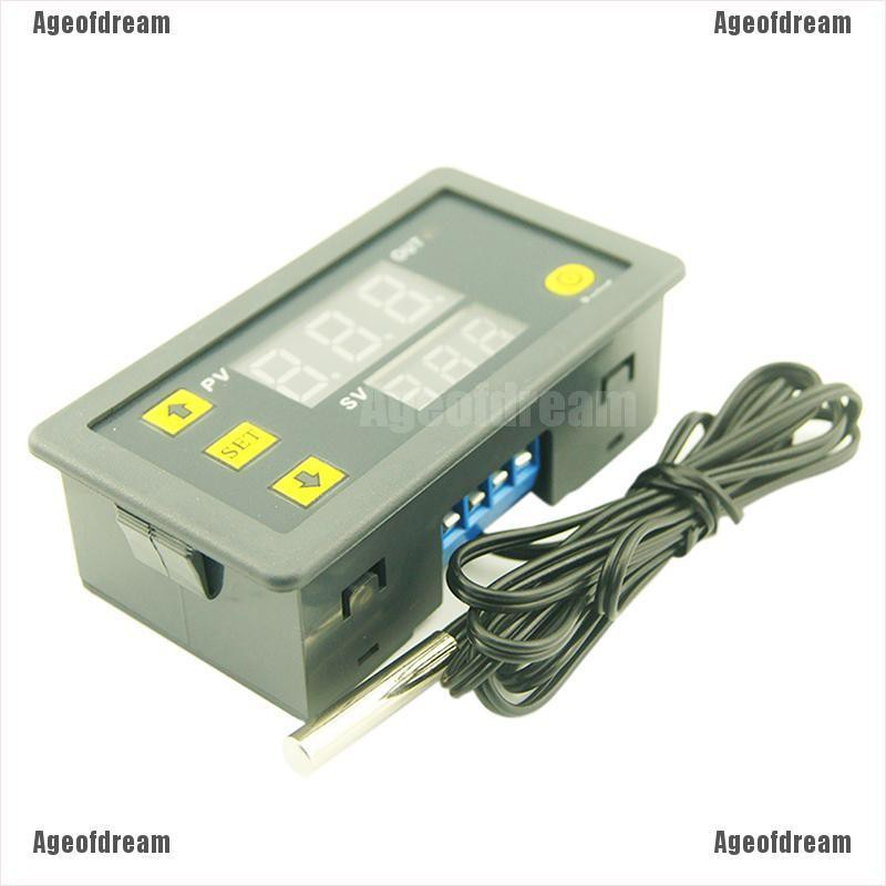 New W3230 LCD 12V Digital Thermostat Temperature Controller Meter Regulator