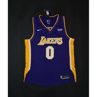 buy popular 28cb7 d2b28 2018 Original Nike NBA Los Angeles Lakers Kyle Kuzma #0 ...