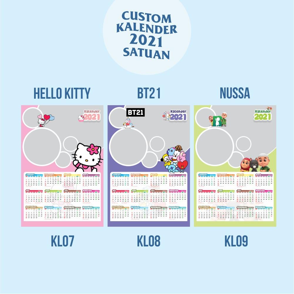 2021 Wall Calendar Cartoon Theme Frozen Kids Tayo Hello Kitty Bts Custom Photo Shopee Singapore Jahreskalender fuer das jahr 2021 auch zum ausdrucken und einbinden in die eigene seite. shopee singapore