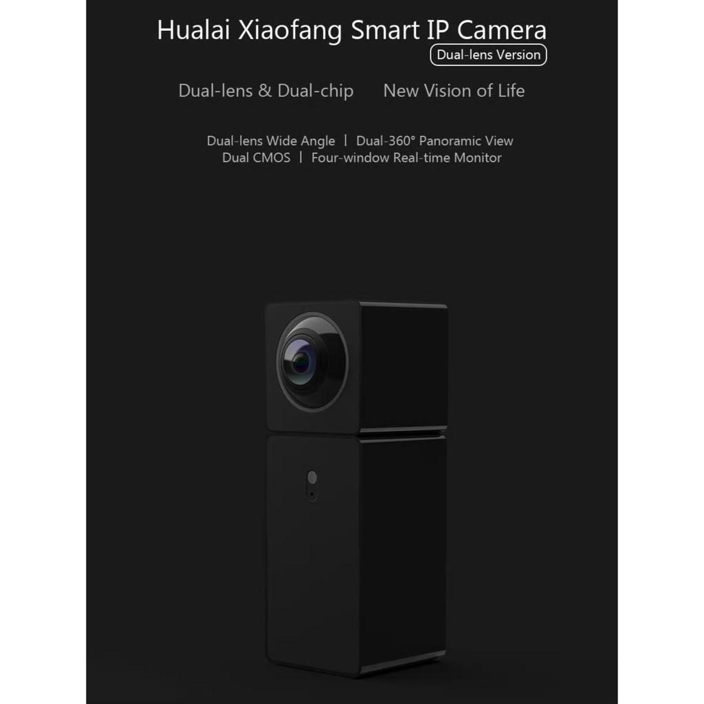 Xiaomi Mijia Hualai Xiaofang IP Camera 1080p Dual Lens WiFi with Remote  Control
