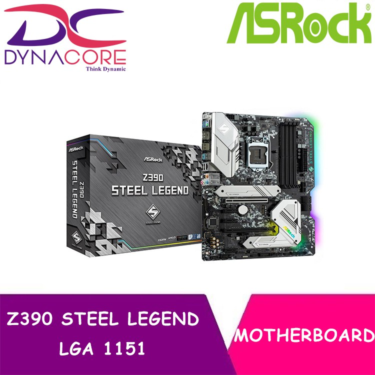 ASRock Z390 STEEL LEGEND LGA 1151 ATX Intel Motherboard