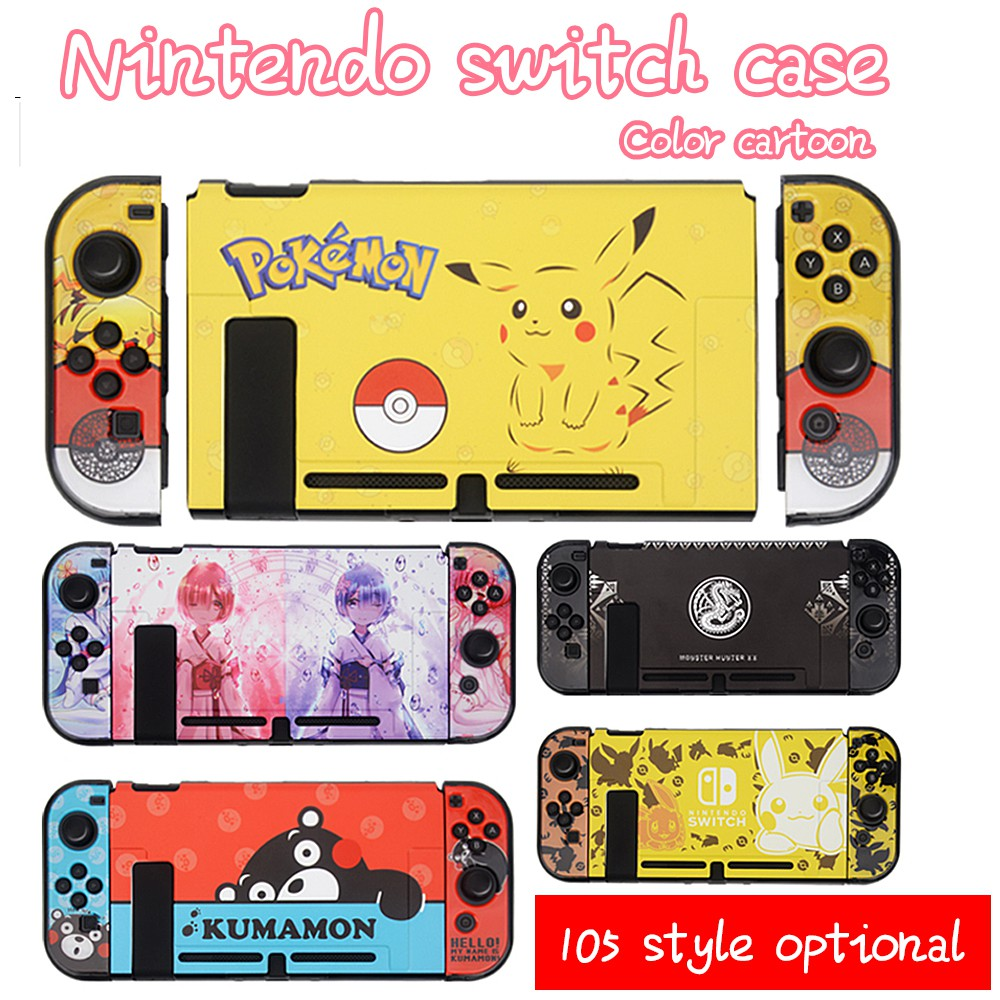 Dockable Case For Nintendo Switch Pokemon Theme Case For Switch & Joy-Con