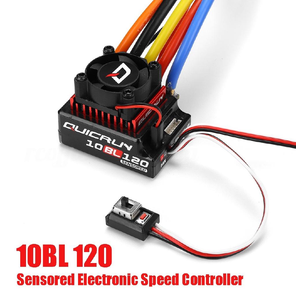 Hobbywing QuicRun Brushless Sensored Speed Controller 120A ESC For 1