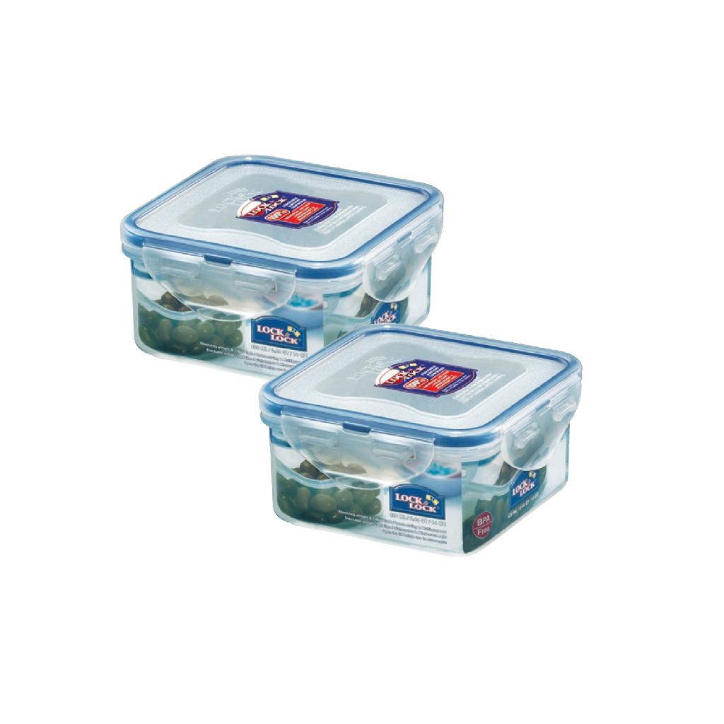 3 x LOCK /& LOCK PLASTIC RECTANGULAR FOOD STORAGE CONTAINER 12L HPL889