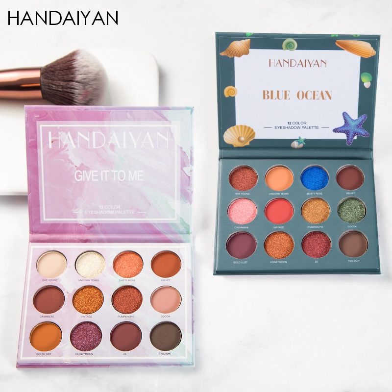 Eye Shadow Strong-Willed Beauty Glazed 9colors Eyeshadow Palette Makeup Shimmer Matte Glitter Pigmented Eye Shadow Powder Palette Easy To Wear Shadow Kit Fine Craftsmanship Back To Search Resultsbeauty & Health