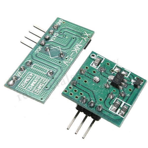 NEW433Mhz RF Transmitter With Receiver Kit For Arduino ARM MCU Wireless