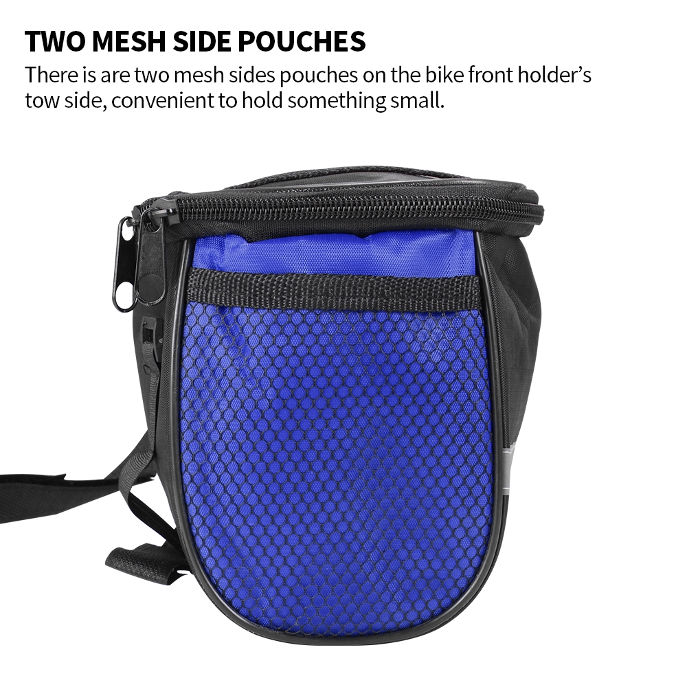 Bike Insulated Front Bag Bicycle Handlebar Basket MTB Cycle Pannier Cooler Pack