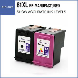 3 PACK for HP 61 XL Black Color Cartridges for Deskjet 3056A 3510 3511 3512 3516