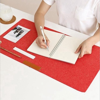 Mouse pad/felt desk pad keyboard pad color double-sided