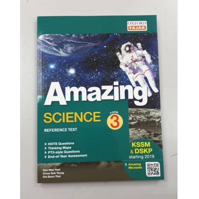Oxfordfajar Amazing Reference Book Science Tingkatan 3 Form 3 Shopee Singapore