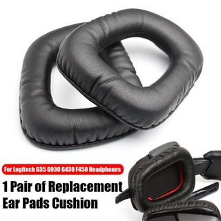 7442bb9e301 New Replacement Ear Pads Buds Caps Cushions For Logitech G930 G430 F450  Headphones | Shopee Singapore