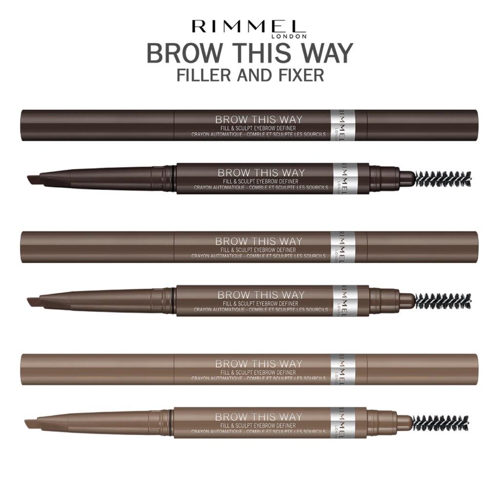 Rimmel Brow This Way 2 In 1 Filler Fixer Fill Sculpt Eyebrow