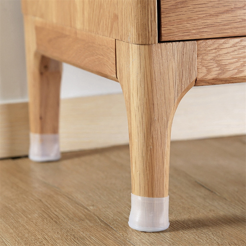 8 Pcs/Lot Silicone Non-slip Table Chair Leg Caps Foot Protection Bottom  Cover Wood Floor Protectors   Shopee Singapore