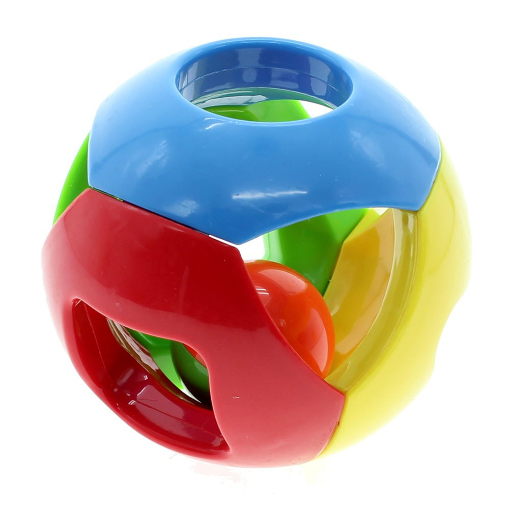 Lovely Baby Kids Toddlers Jingle Rattle Rolling Ball Ring Bell Grasp Shaker Toy