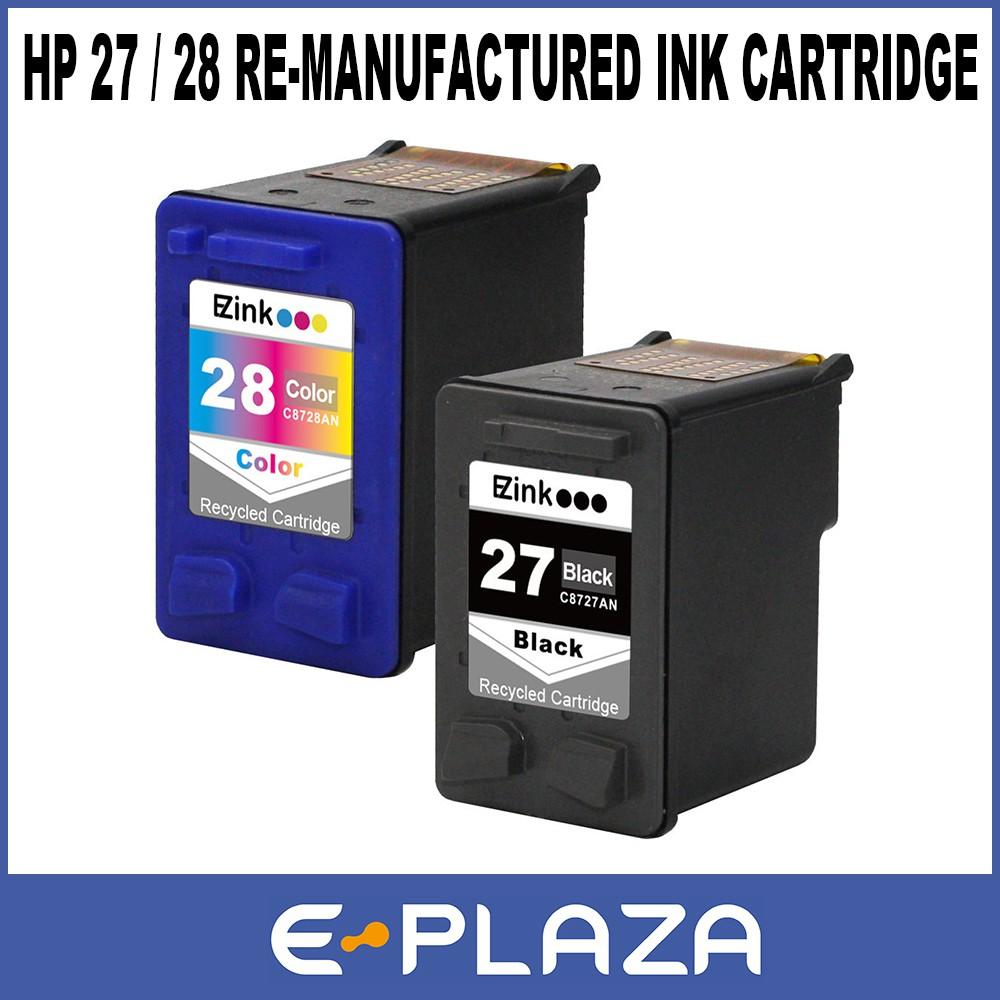 Canon Re Manufactured Ink Cartridges Pg 830 Black Cl 831 Color Tinta Original Shopee Singapore