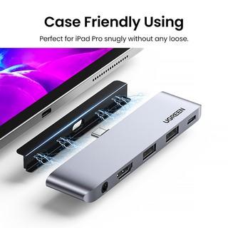 UGREEN 4K 60Hz USB C HUB For iPad Pro 2021/2020 | Shopee ...