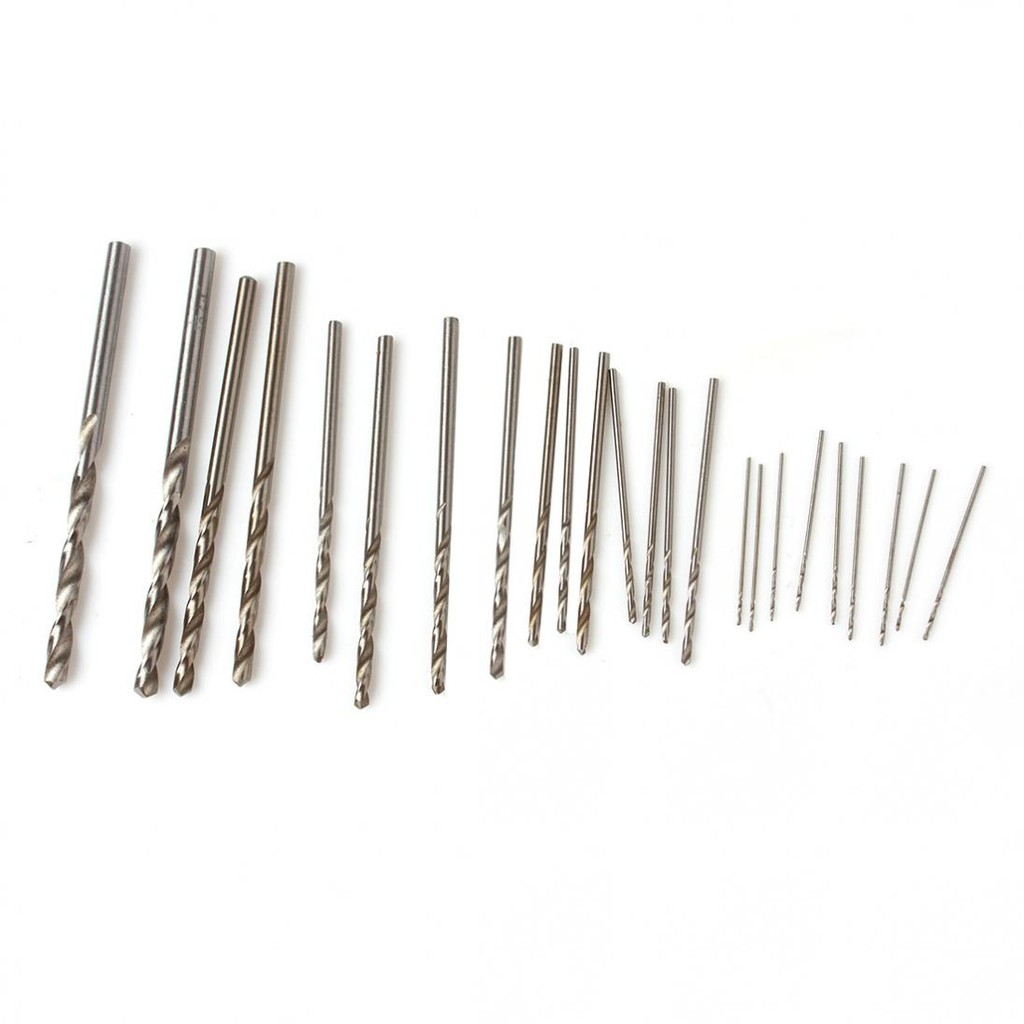 25pcs Drill Bit Tools Electric Jewelry Twist .