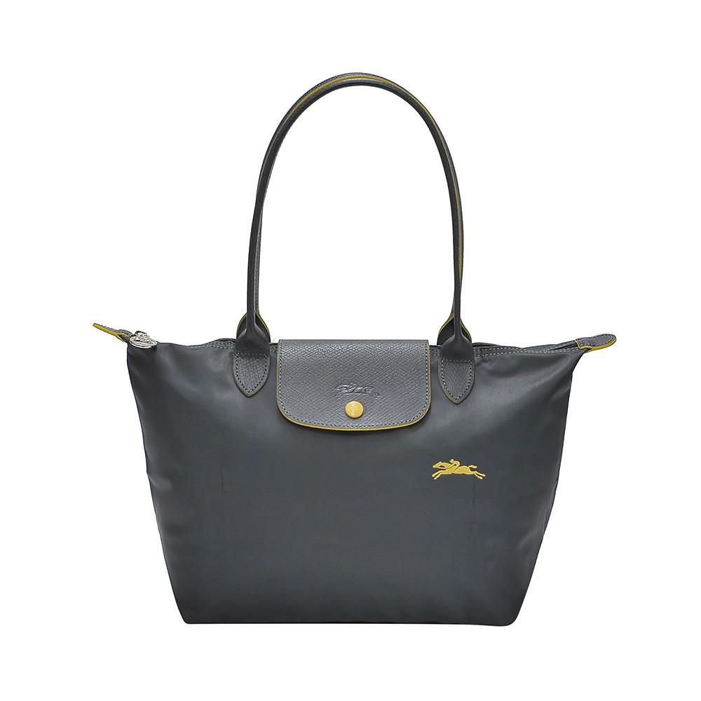 3e5383db0131 Longchamp Blue Mist Le Pliage Cuir Crossbody Bag