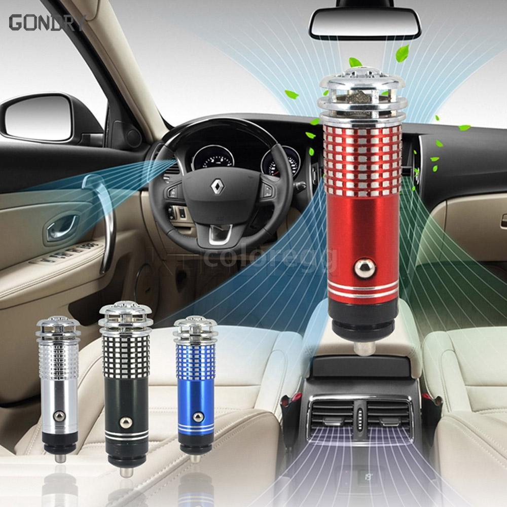 Car Air Purifier Oxygen Bar Ionizer Ozonator Mini Pro Smoke Remover Fresher | Shopee Singapore