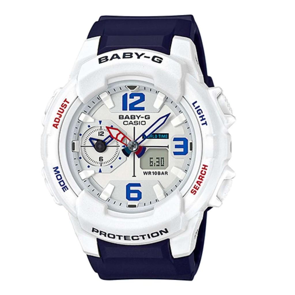 Casio Baby G Bga 150pg 2b2dr Chronograph Blue Womens Watch 1111 Seiko Ladies Sxdg76p1 Sale Shopee Singapore
