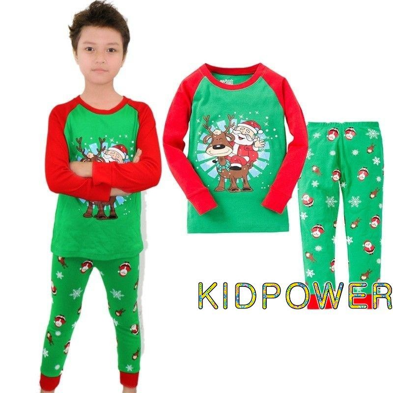 8519513bf474 KER-Kids 1-7Y Baby Boy Girl Nightwear Pajama Outfit Set Sleepwear ...