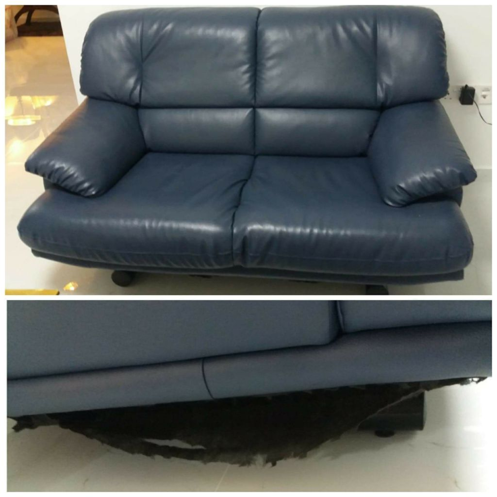 2 Seater Sofa From Courts Sho