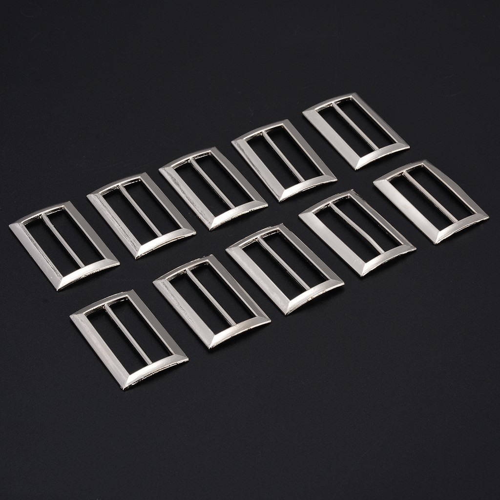 Welded D Ring 6 x 20mm Metal Buckles for Webbing Handy Straps
