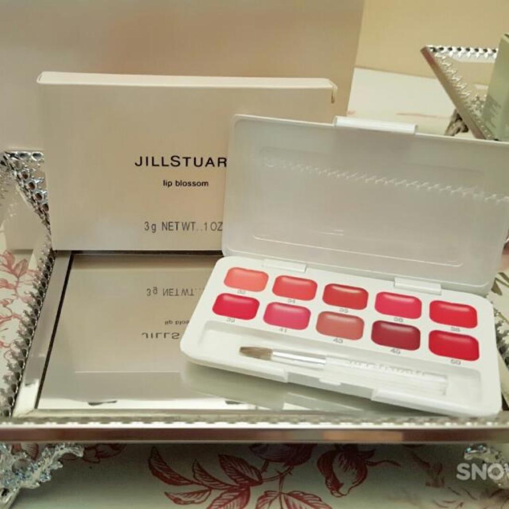 $22 8 only 🇯🇵 Jill Stuart lip blossom palette mini bnib