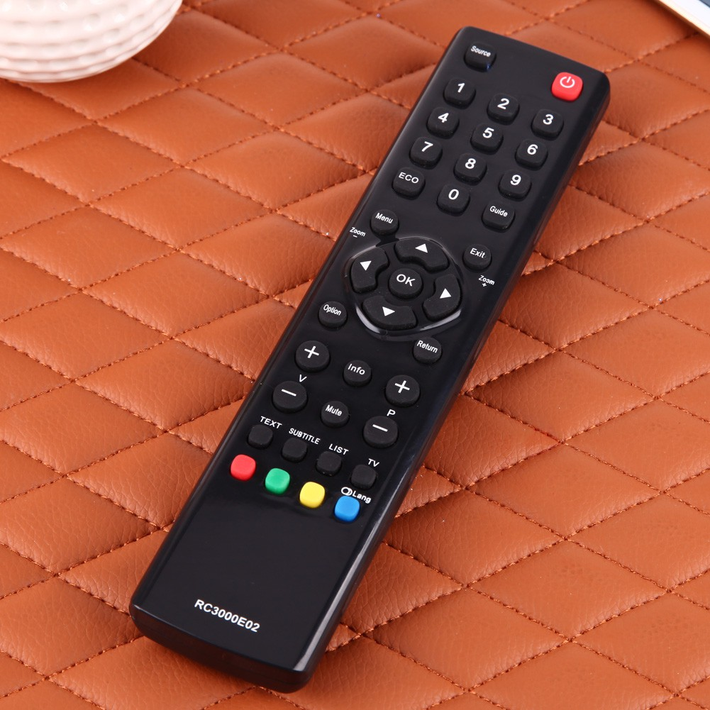 TV Remote Control Replacement for TCL RC3000E02