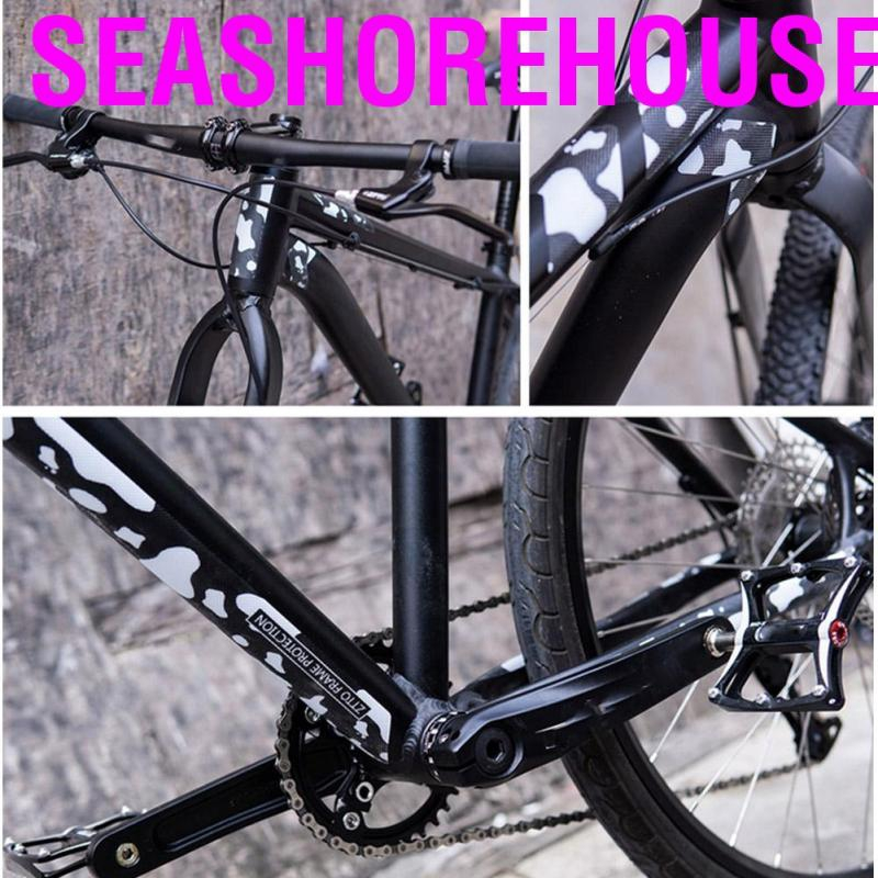 ZTTO 1 Set Bicycle Stickers Frame Cover UV Protection Waterproof Mountain Bike