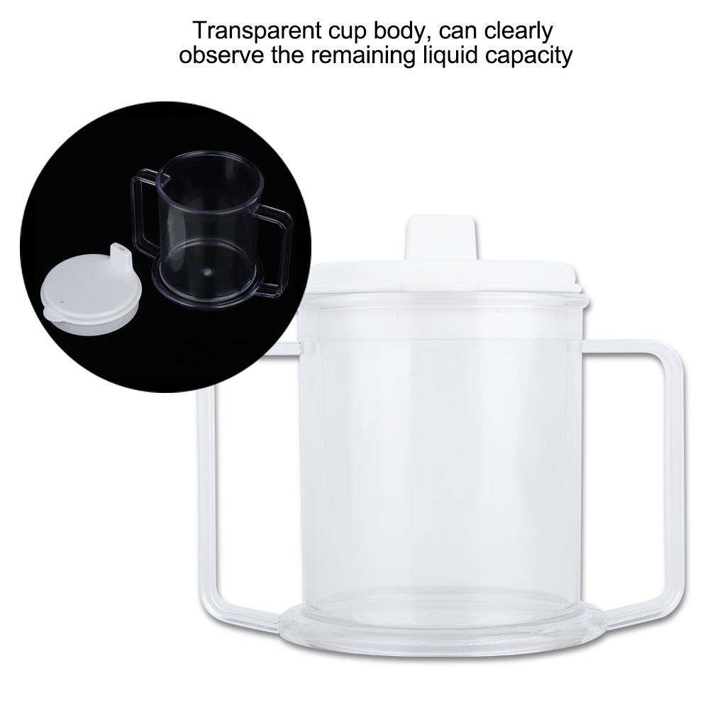 Black Double Handle Toddler Cup
