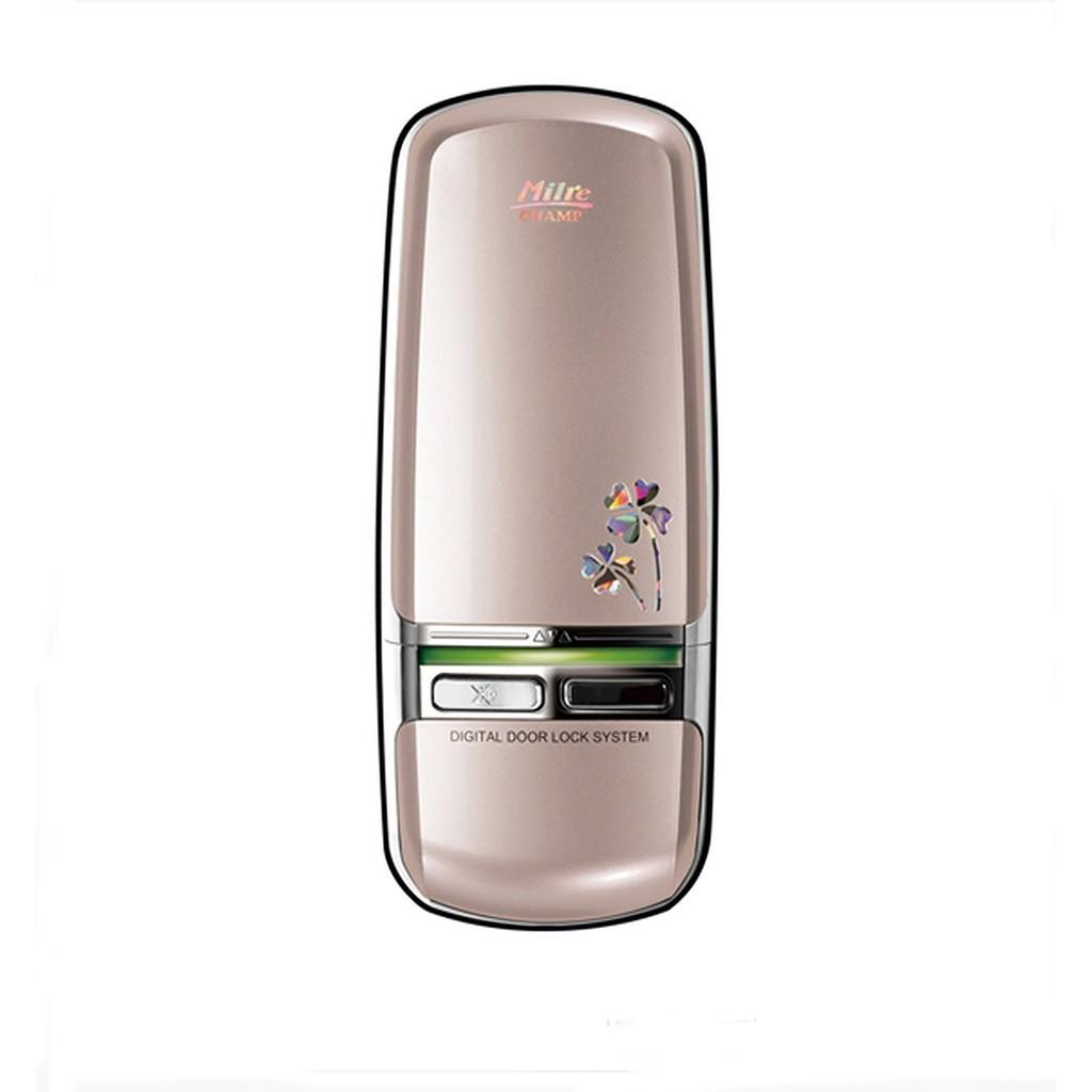 Milre Mi 350dchamp Keyless Electronic Digital Door Lock Champagne Gold Keypad Shopee Singapore