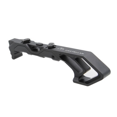 Black Metal Foregrip Angled Fore Grip Rail Set for Keymod/&M-LOK Compatible Mount