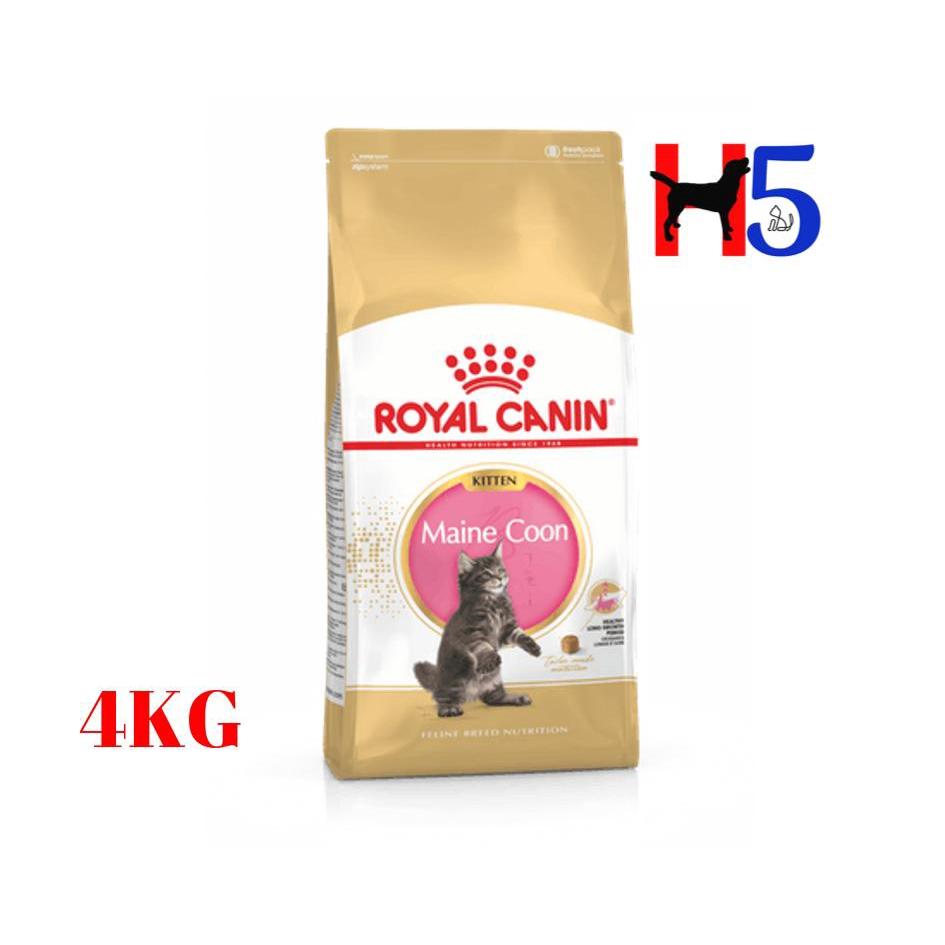Royal Canin Maine Coon Kitten 4kg Makanan Kucing Dry Cat Food Pet Food Shopee Singapore