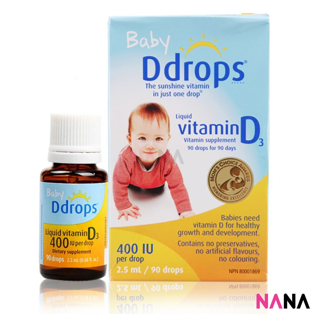Vitamin D for babies. Need or not 25