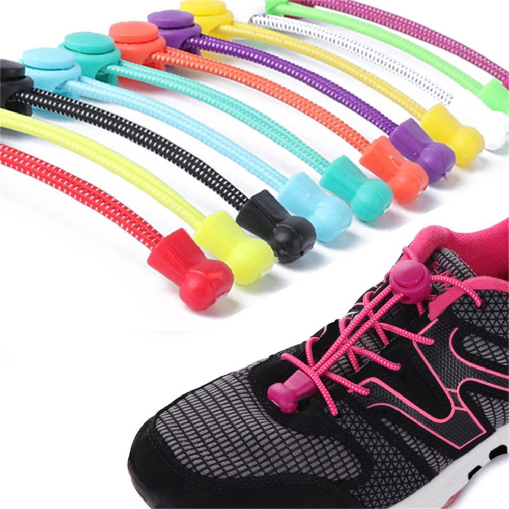 24 Pair Pack Round Athletic Laces for Boots And Shoes NEON YELLOW